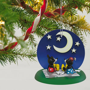 Disney Mickey and Minnie Starry-Eyed Sweethearts Ornament