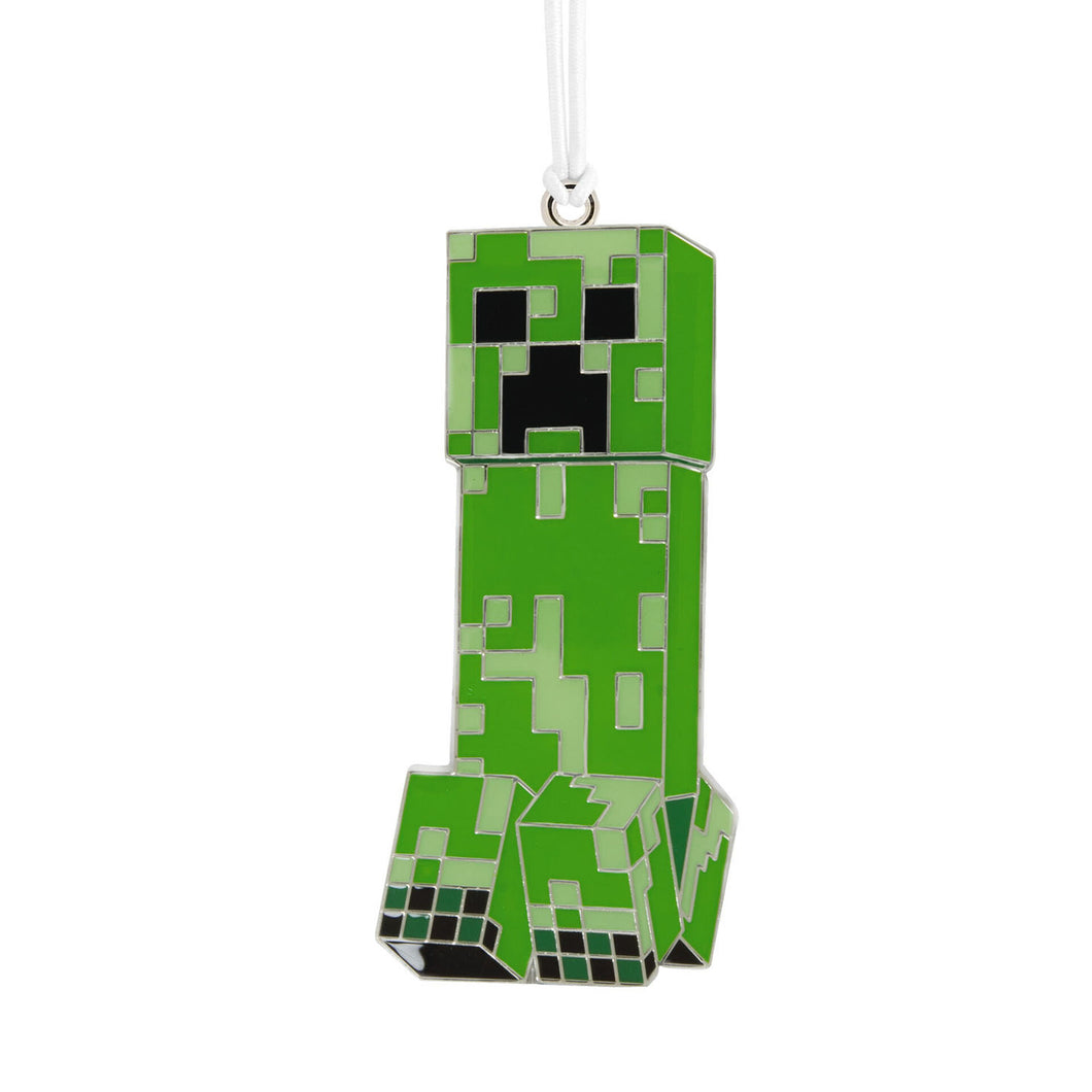 Minecraft Creeper Metal Hallmark Ornament