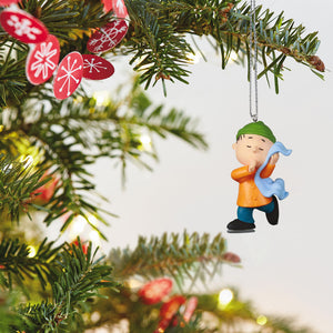 Mini The Peanuts® Gang Linus Skating Ornament, 1""
