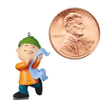 Load image into Gallery viewer, Mini The Peanuts® Gang Linus Skating Ornament, 1""