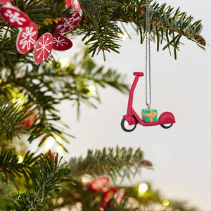 Mini Small Scooter Ornament, 0.97""