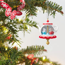 Load image into Gallery viewer, Mini Tea Party Twirl-About Ornament With Motion, 1.62""