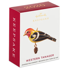 Load image into Gallery viewer, Mini Western Tanager Ornament, 1.09""