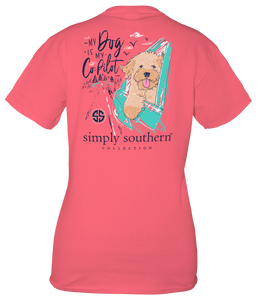 Simply Southern My Dog is my Co-Pilot Short Sleeve T-Shirt
