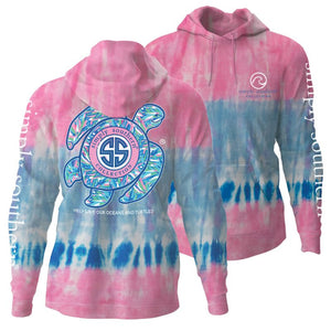 Simply Southern TURTLE TIE DYE CANDY HOODIE