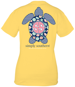 Simply Southern SAVE TURTLE SEA SHELLS Short Sleeve