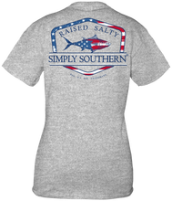 Load image into Gallery viewer, Simply Southern FLAG FISH Short Sleeve
