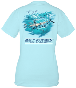 Simply Southern MARLIN FISH Short Sleeve