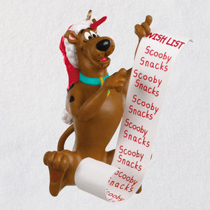 Scooby-Doo™ Scooby's Christmas List Ornament