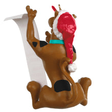 Load image into Gallery viewer, Scooby-Doo™ Scooby's Christmas List Ornament