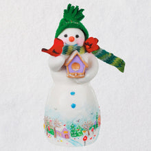 Load image into Gallery viewer, Snowtop Lodge Birdie P. Nestinghouse Porcelain Ornament