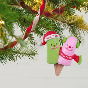 Sweeter Together Popsicle Couple Ornament