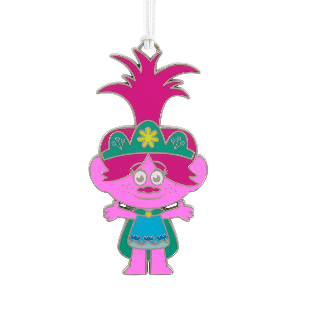 DreamWorks Trolls World Tour Poppy Metal Hallmark Ornament