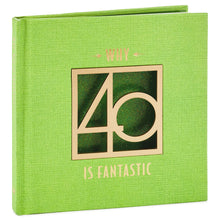 Load image into Gallery viewer, Why 40 Is Fantastic Book