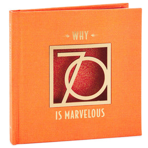 Why 70 Is Marvelous Book