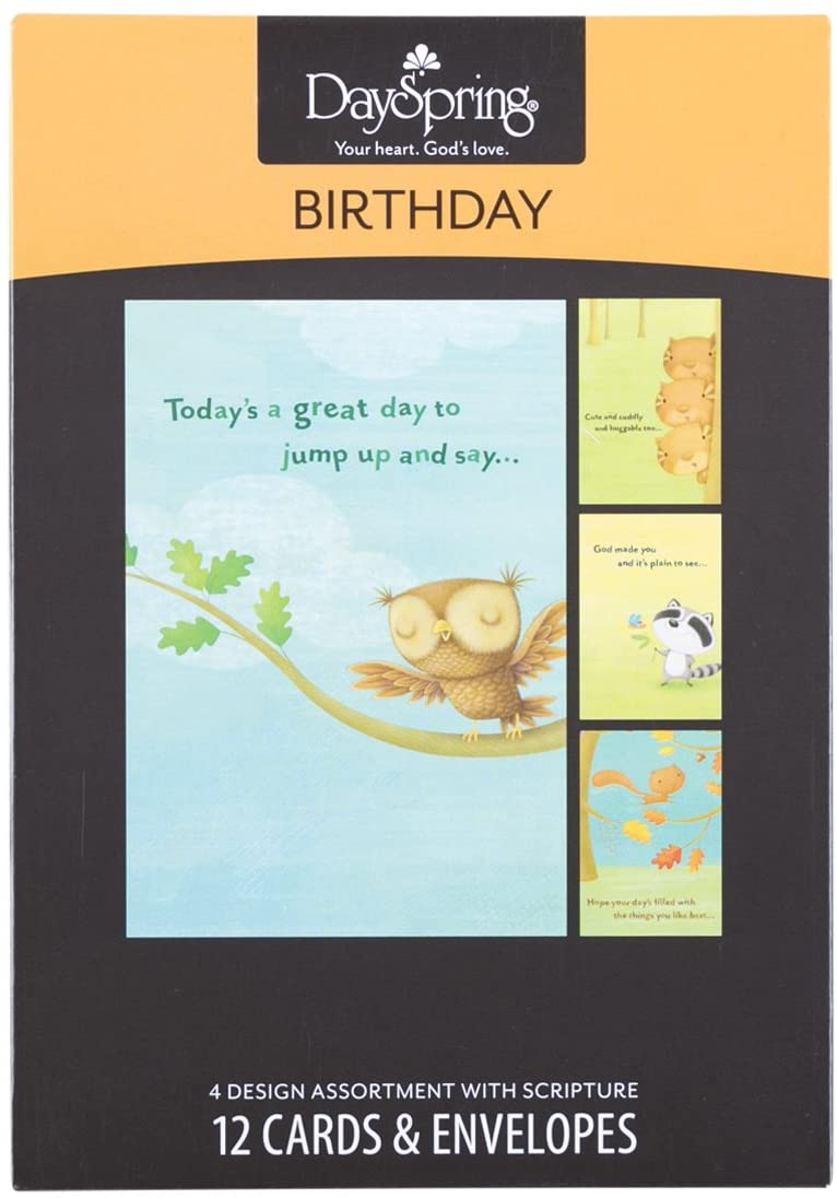 Birthday Assorted Boxed Cards Dayspring