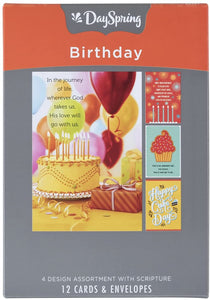 Birthday Cards Assorted Box Dayspring