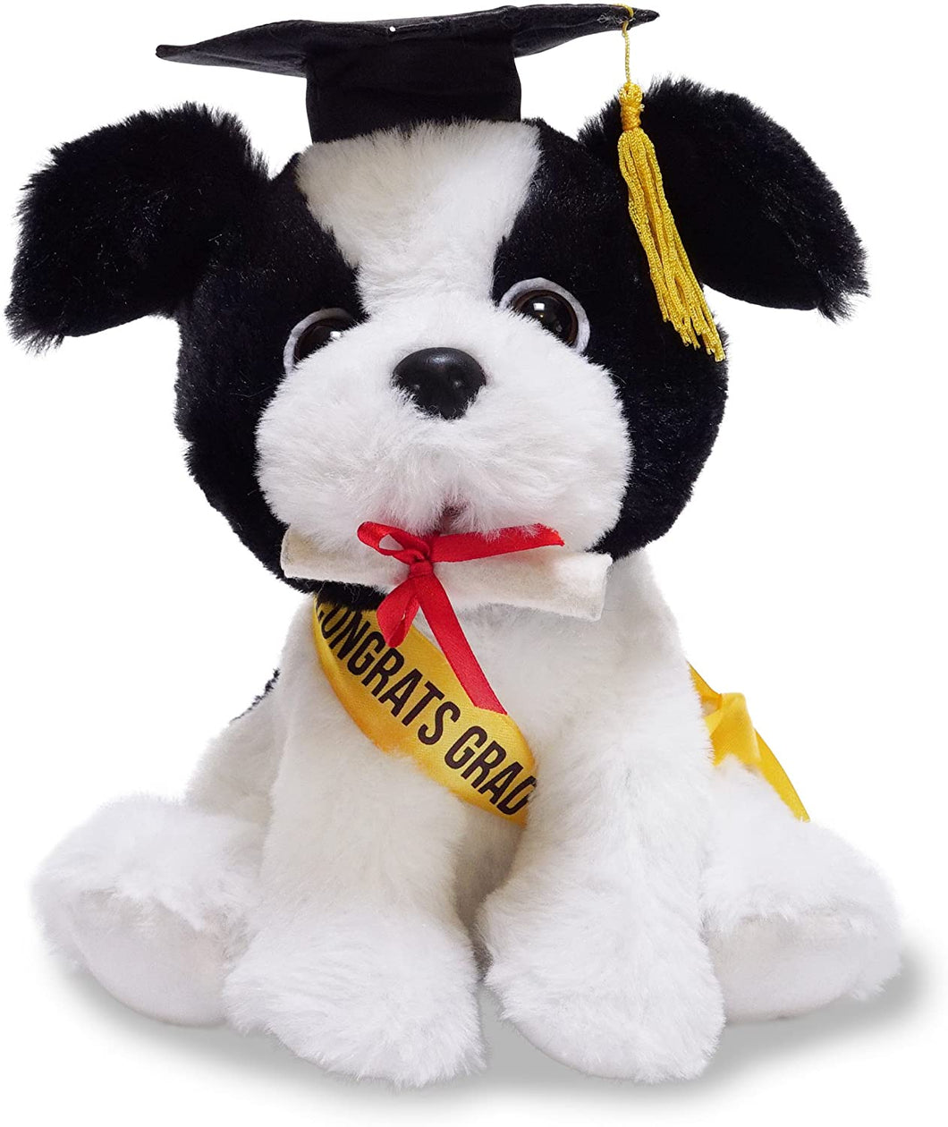 Top of the Class Max Animated Graduation Dog