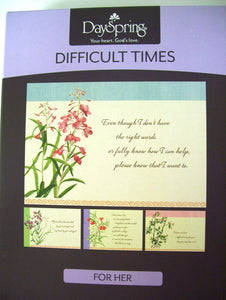 Difficult Times Assorted Boxed Cards Dayspring