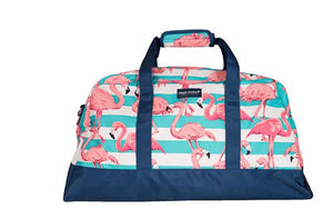 Simply Southern Flamingo Travel Bag