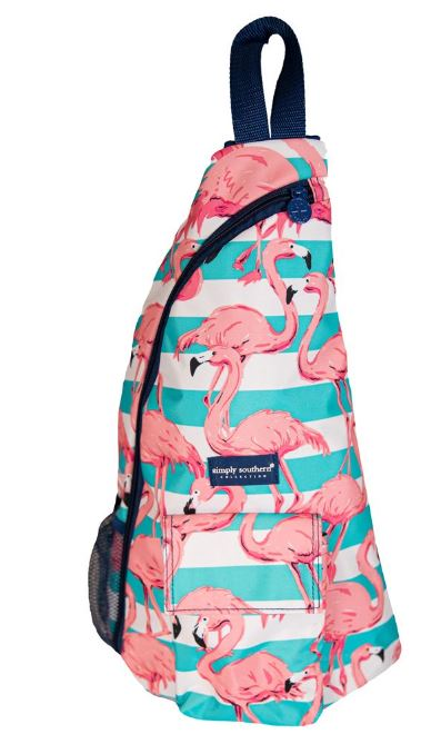 Simply Southern Flamingo Sling Bag