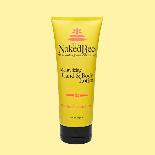 Naked Bee Moisturizing Hand & Body Lotion Grapefruit Blossom Honey 6.7 oz