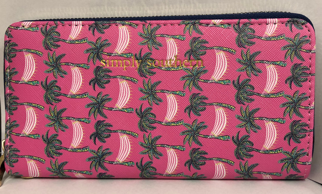 Hammock Palm Tree Wallet Simply Southern