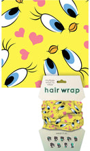 Load image into Gallery viewer, Tweety Bird Face Cover/Hair Wrap