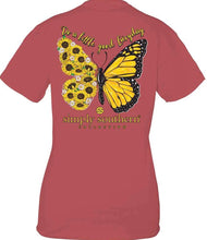 Load image into Gallery viewer, Simply Southern GOOD EVERYDAY BUTTERFLY Short Sleeve