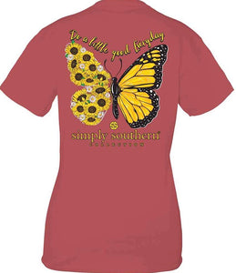 Simply Southern GOOD EVERYDAY BUTTERFLY Short Sleeve