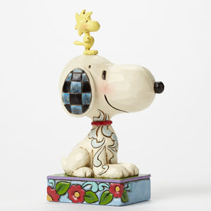 "Jim Shore ""My Best Friend"" Peanuts Figurine"