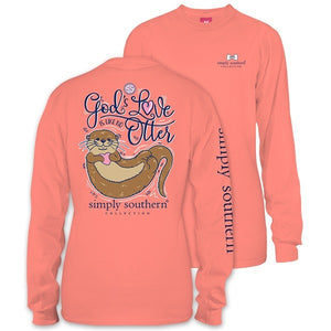 Simply Southern Otter God's Love Long Sleeve T-Shirt
