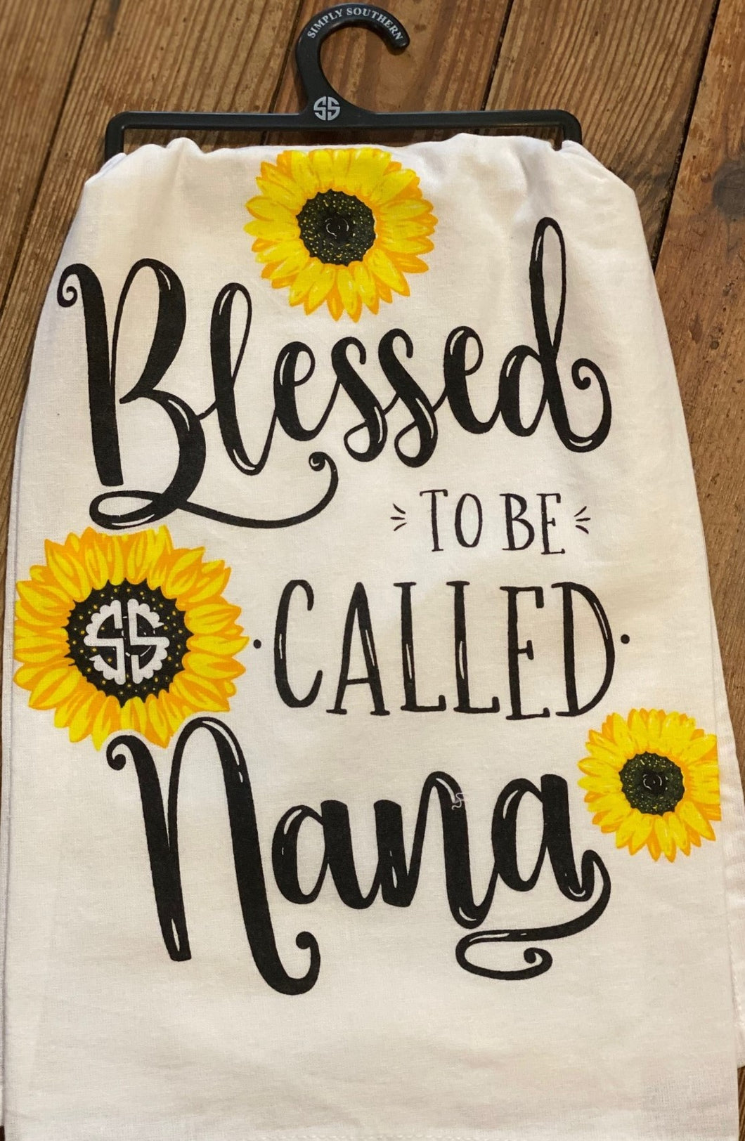 Blessed to be Called Nana Kitchen Towel Simply Southern
