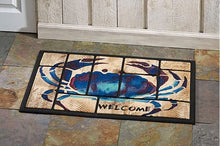 Load image into Gallery viewer, PAINTERLY CRAB DOORMAT 18 X 30