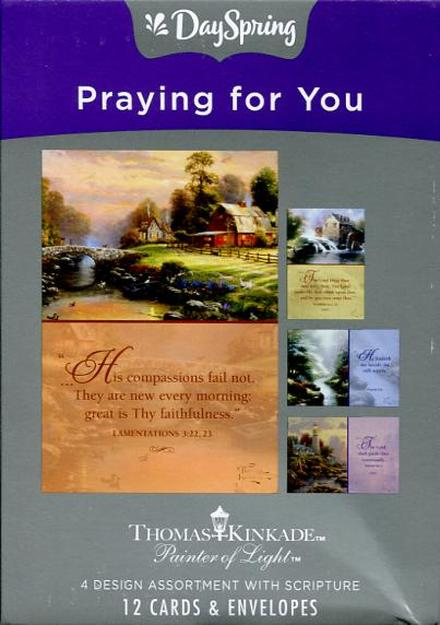 Praying for You Assorted Boxed Cards Dayspring