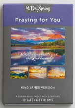Load image into Gallery viewer, DAYSPRING Praying For You Assorted Boxed Cards