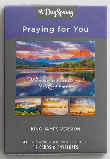 DAYSPRING Praying For You Assorted Boxed Cards