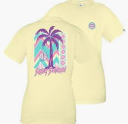 Simply Southern Retro Palm Tree Short Sleeve T-Shirt