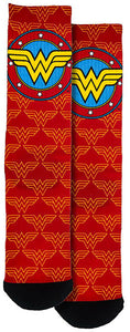 WONDER WOMAN LOGO UNISEX CREW SOCKS