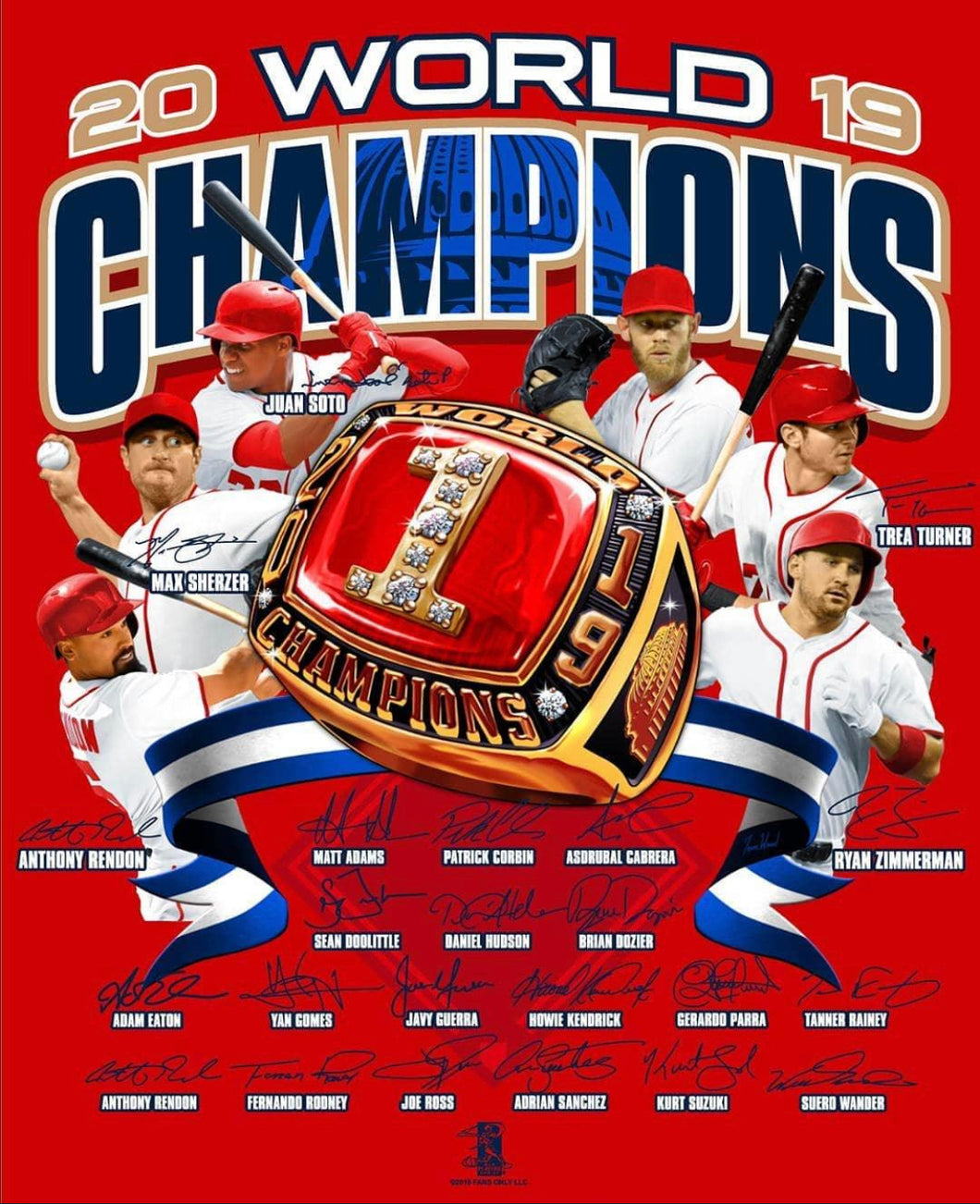 World Series 2019 Champs T-Shirt