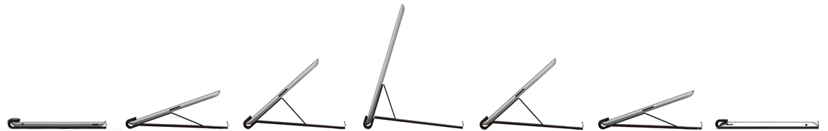 Every Possible angle for the FlipStand iPad stand