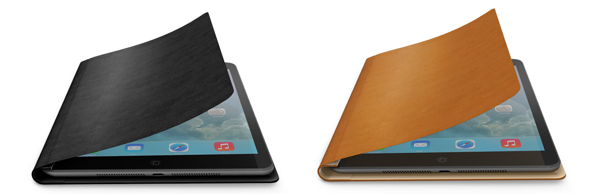 black and tan FlipBook Air iPad Air 2 cases