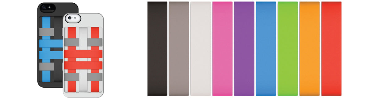 Color options for Felix HoldTight bands iPhone 5 cases