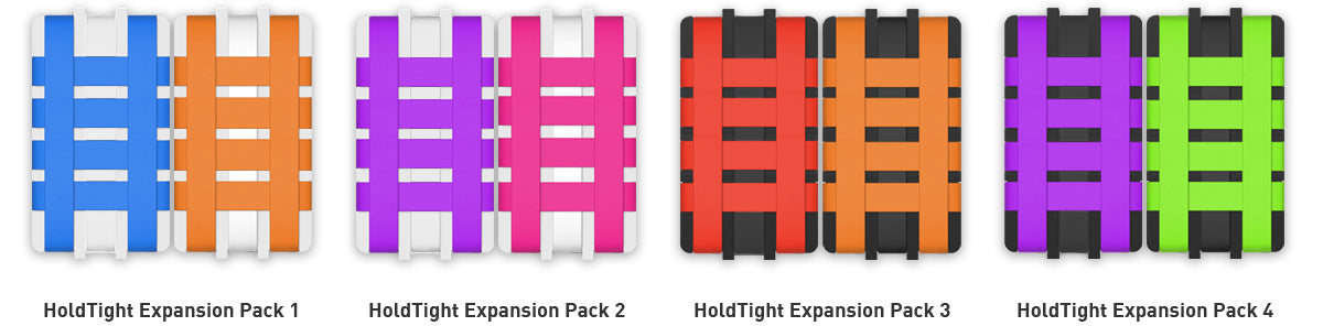 HoldTight Expansion packs for iPhone case