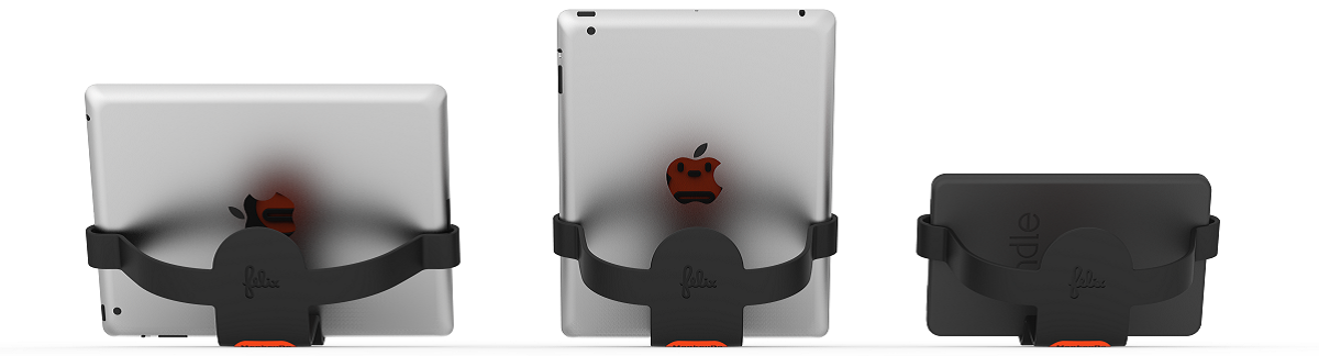 Back View of MonkeyDo iPad Holders by Felix