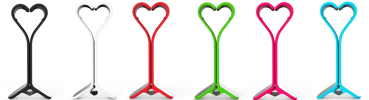 Color options for SmallHands iPhone Stands by Felix