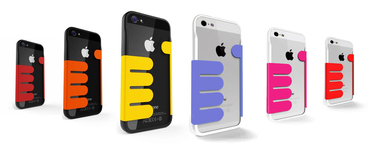 Color options for Felix's HandHold iPhone 5 Wallet Cases