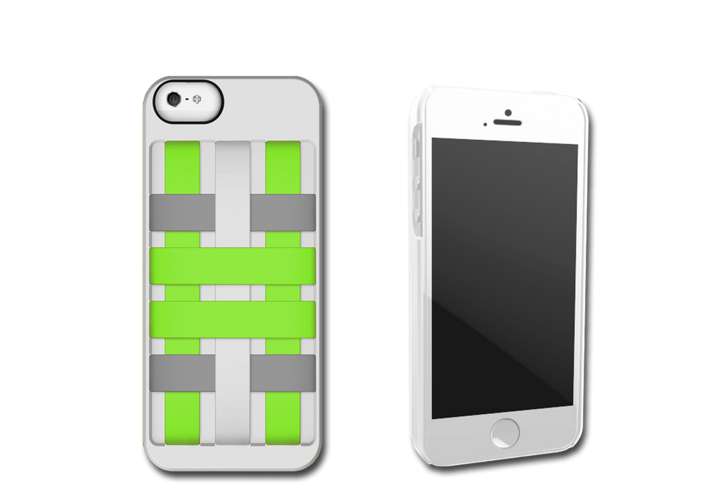 White-Green HoldTight iPhone 6 Case by Felix