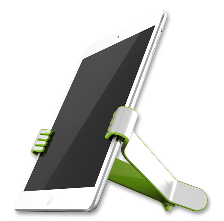 Green TwoHands iPad Clamp by Felix