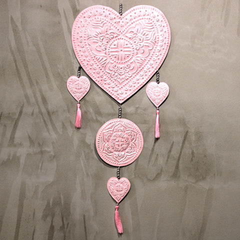 Large Aluminium Mobile - Hearts, Pineapples or Angels